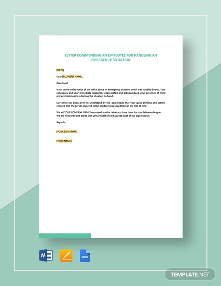 Free Emergency Planner Cover Letter Template