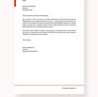 Employee Transfer Letter Inter Company