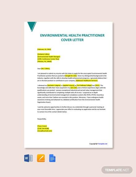 Free Environmental Health Templates