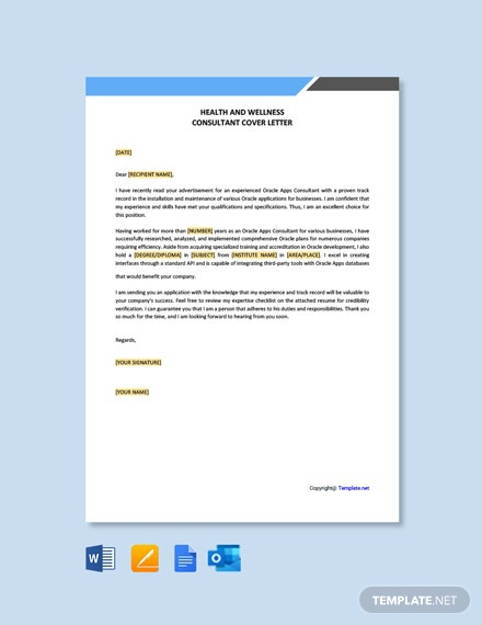 Health And Wellness Consultant Cover Letter Samples ...