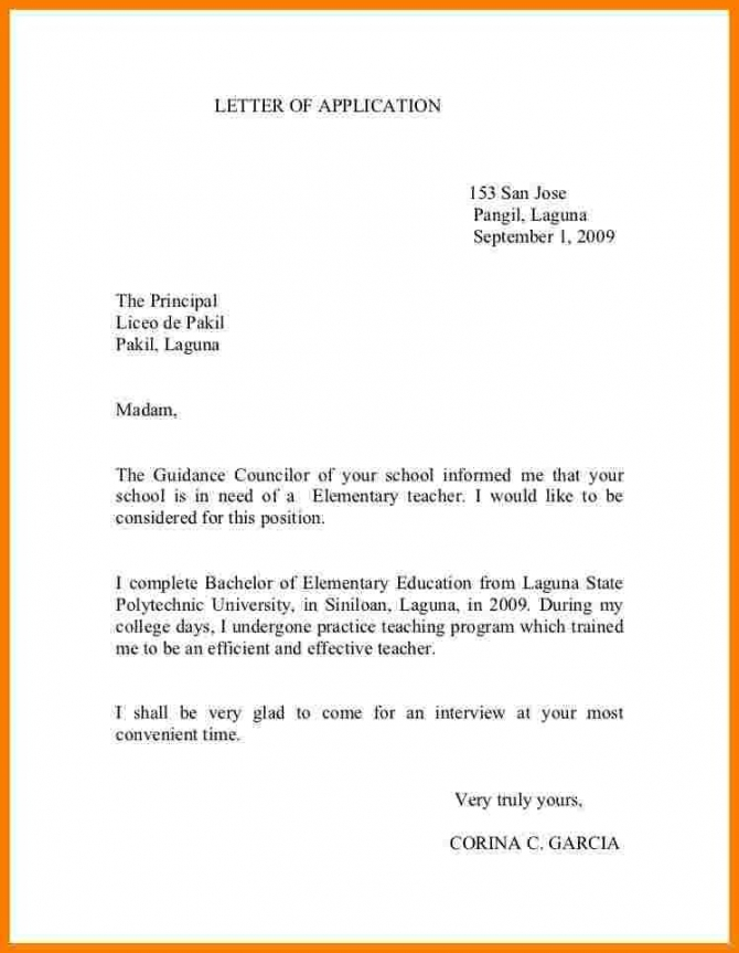 How To Write A Letter To A Principal How To Write Letter Letter Of