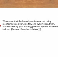 Landlord Warning Letter To Tenant