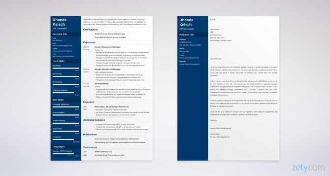 Hr Generalist Cover Letter Sample  Format   Complete Writing Guide