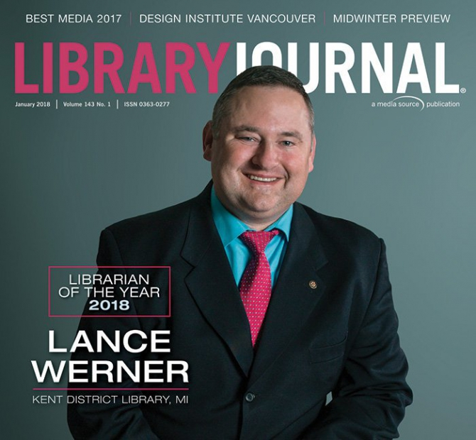 Lance Werner Ljs  Librarian Of The Year