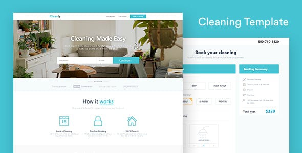 Laundry Email  Newsletter And Landing Page Template
