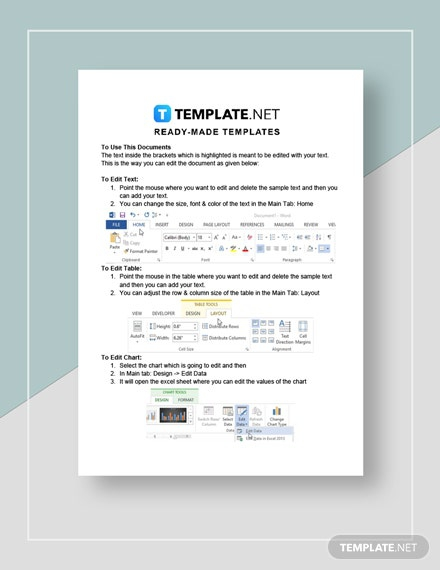 Lease Transmittal Letter Template