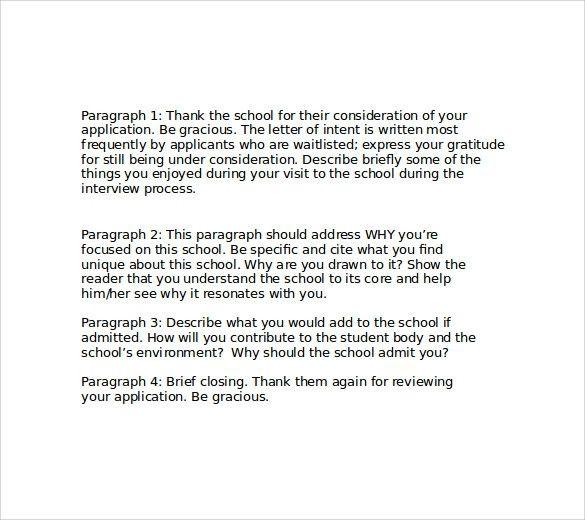 Letter Of Intent For Medical School Elegant Letter Of Intent