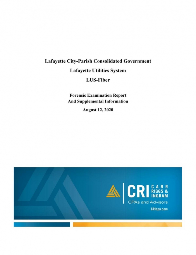 Lus Fiber Forensic Audit Report