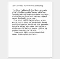 Business Meeting Appointment Letter