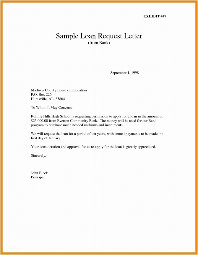 New Letter Format For Request Permission In