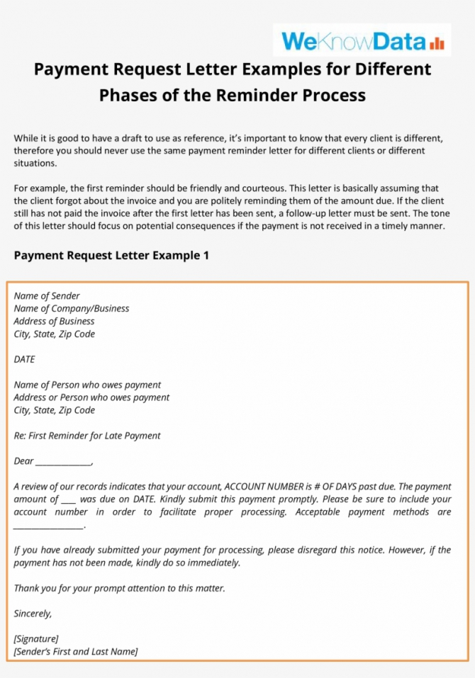 Payment Follow Up Letter Main Image
