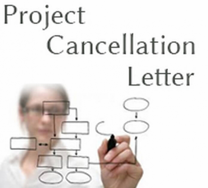 Project Cancellation Letter