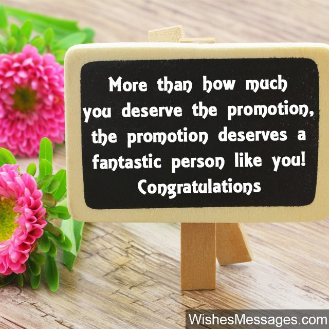 Promotion Wishes And Messages Congratulations For Promotion At