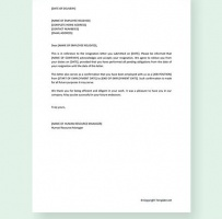 Company Relieving Letter