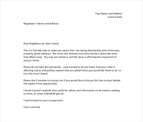 Sample Complaint Letter About Manager Template In Pdf   Doc