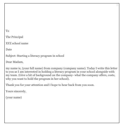 Sample Letter Asking Permission To Do Something