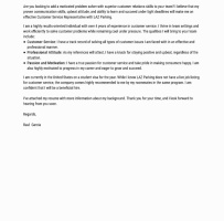 Entry Level Cover Letter No Experience