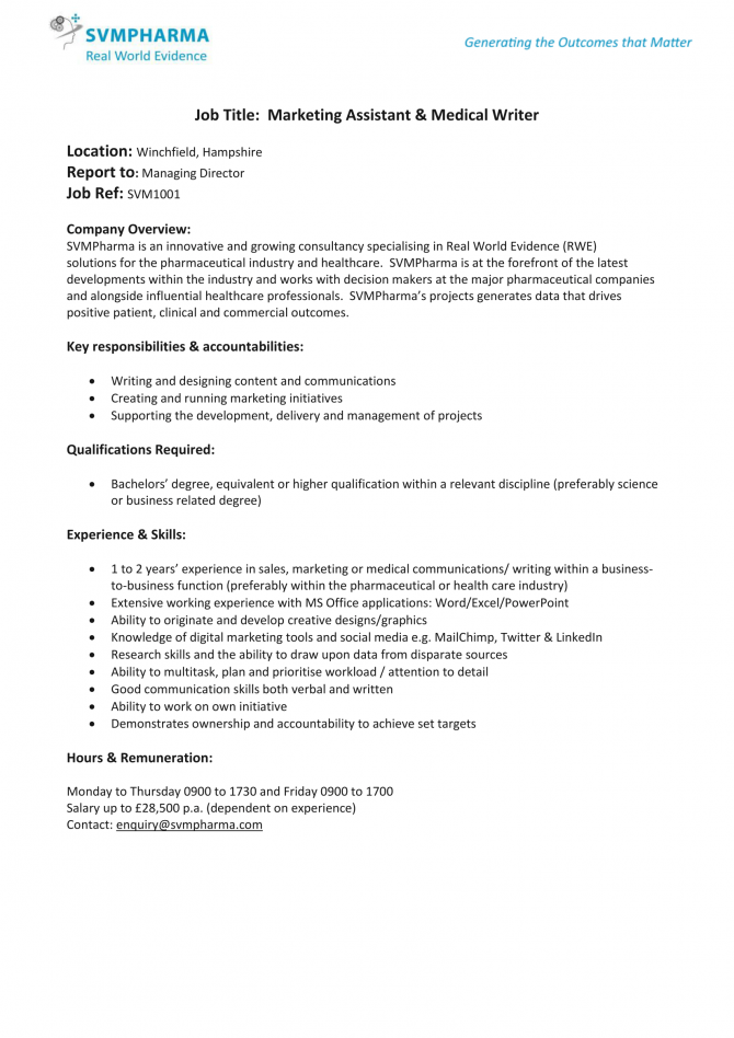 Svmpharma Marketing Assistant