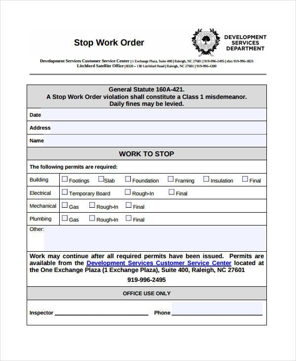 Work Order Templates For Your Business
