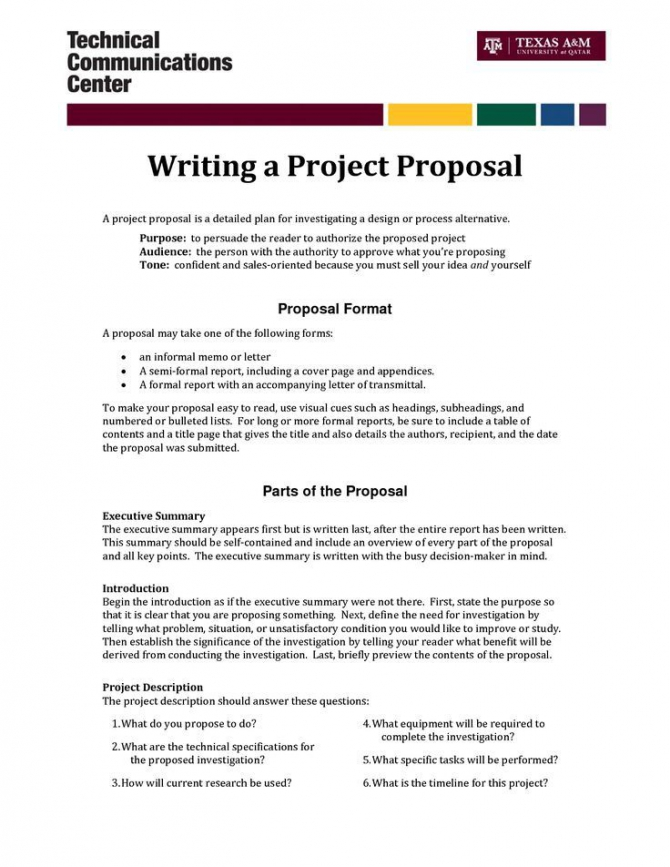 A Proposal Example
