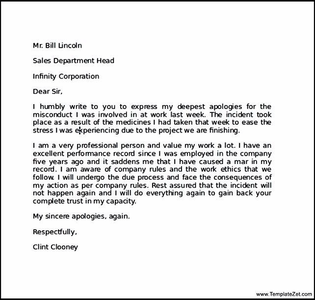 Apology Letter For Mistake To Boyfriend Sle