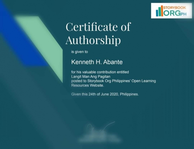 Batch  Certificate Of Authorship Now Open
