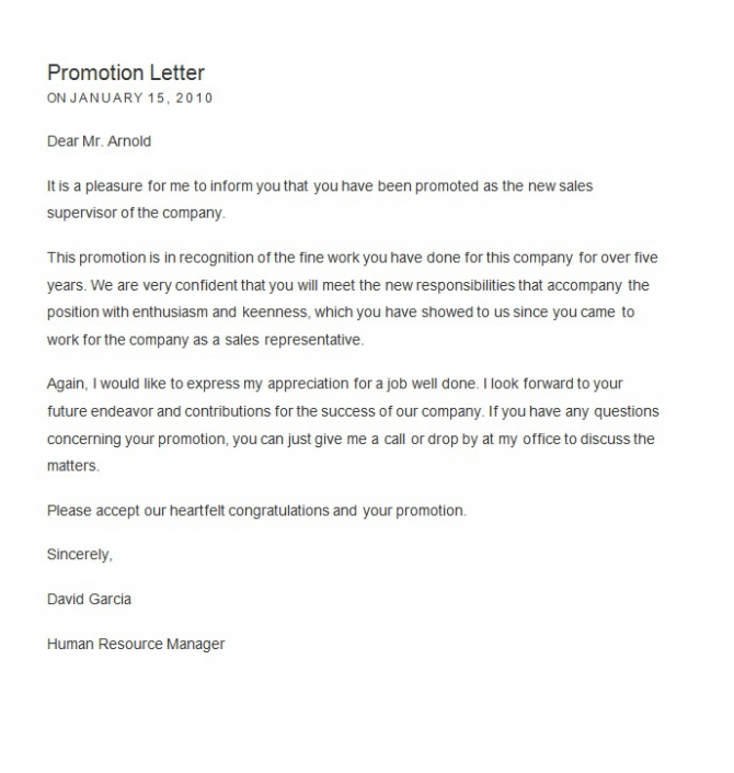 Business Promotion How To Write A Business Promotion Letter