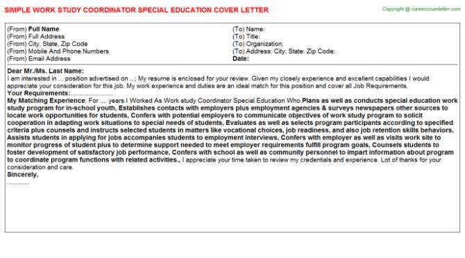 Campaign Coordinator Job Cover Letters Search