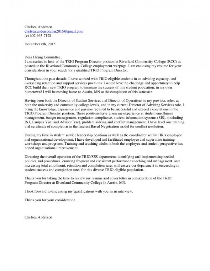 Chelseaandersoncover Letter Trio Director