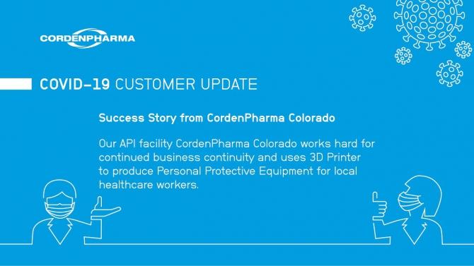 Cordenpharmas Customer Letter Response To Covid