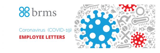 Coronavirus Sample Letters