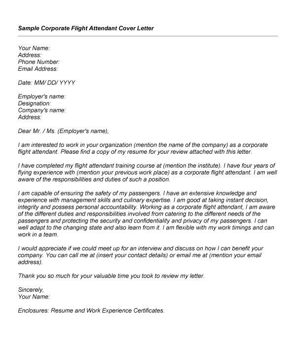 Cover Letter Example For Emirates Cabin Crew Templates Awesome