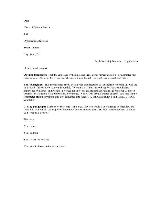 Cover Letter For Microbiology Resume