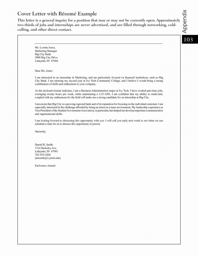 Cover Letter Template Free In