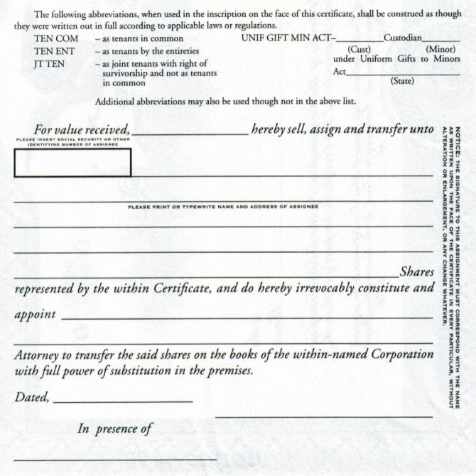 Duke  Stock Certificates