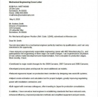 Mechanical Contractor Cover Letter
