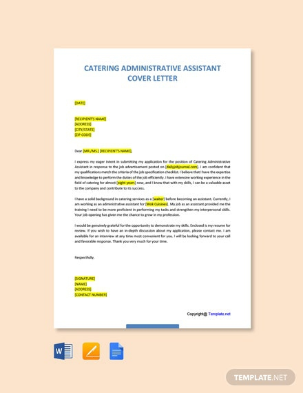 Free Administrative Assistant Cover Letter Templates