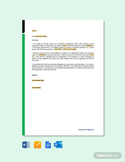 Free Appointment Letter Templates