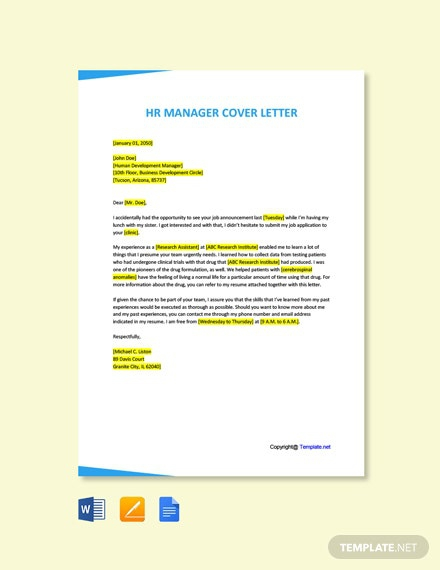 Free Contract Clinical Research Associate Cover Letter