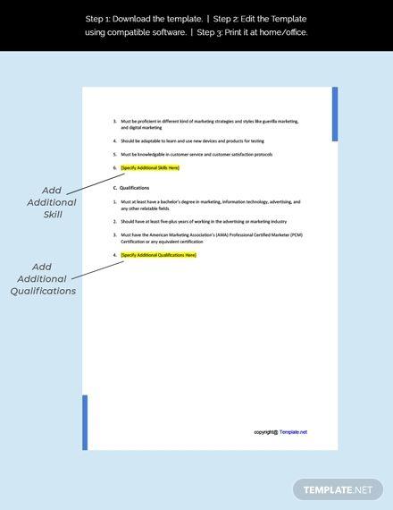 Free Integrated Media Sales Account Executive Job Description