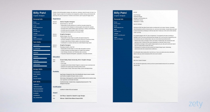 Graphic Design Cover Letter Examples For Designer Jobs