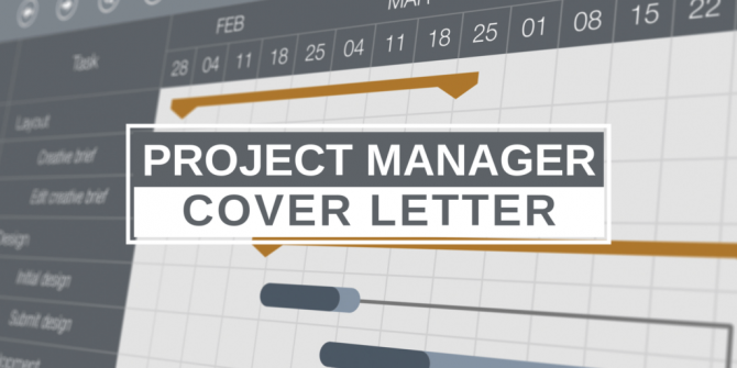 How To Perfect A Project Manager Cover Letter With Sample