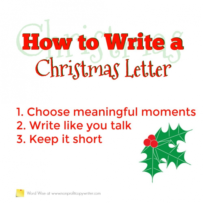 How To Write A Christmas Letter That People Want To Read