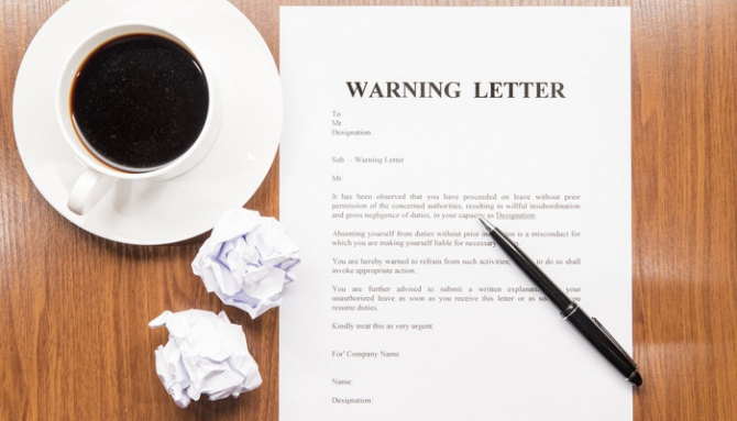 How To Write A Warning Letter To An Employee  Samples