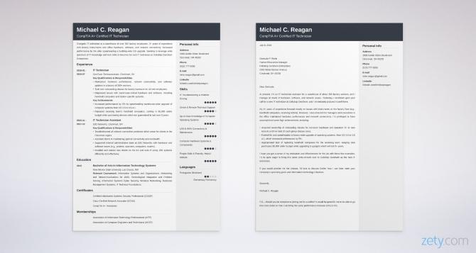 It Technician Cover Letter Sample   Guide  It Tech Job Tips