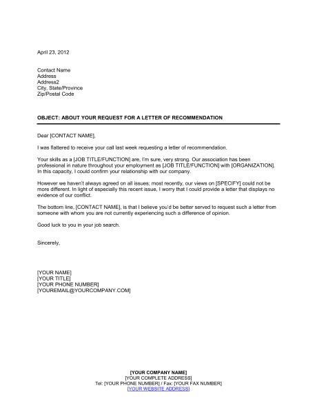 Latter Reference Letter Draft