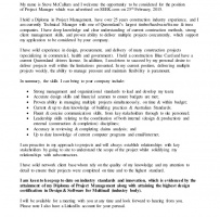 Network Project Manager Cover Letter