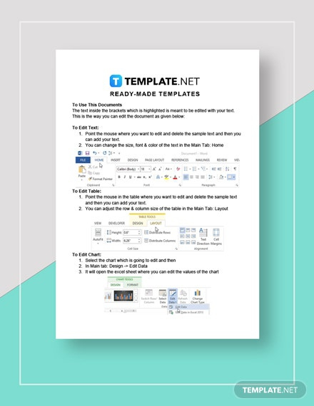 Offer Of Assistance To Family During Employee Illness Template