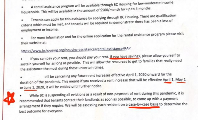 Opinion This Burnaby Landlords Letter Is A Vile Insult To All