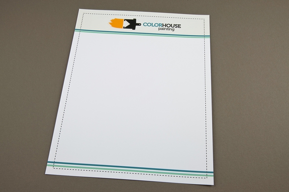 Painting Company Letterhead Template